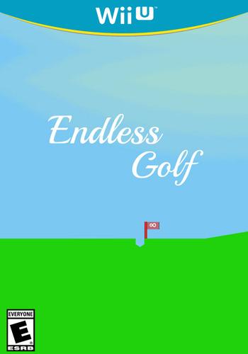 Endless Golf WiiU coverM (AEGE)