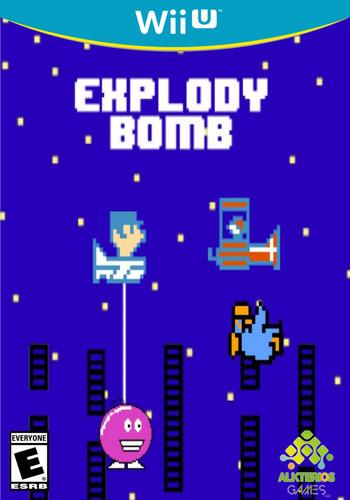 Explody Bomb WiiU coverM (AEXE)