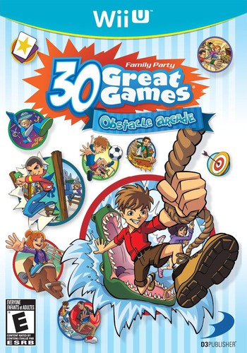 Family Party: 30 Great Games Obstacle Arcade WiiU coverM (AFPEG9)