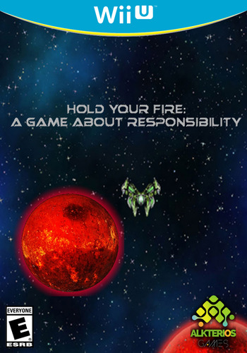 Hold Your Fire: A Game About Responsibility WiiU coverM (AHGE)