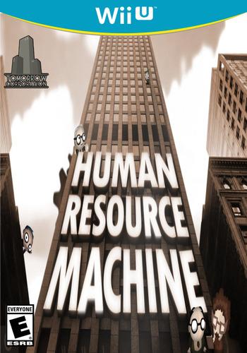 Human Resource Machine WiiU coverM (AHME)