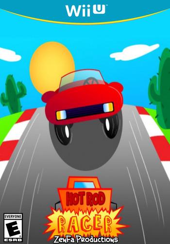 Hot Rod Racer WiiU coverM (AHZE)
