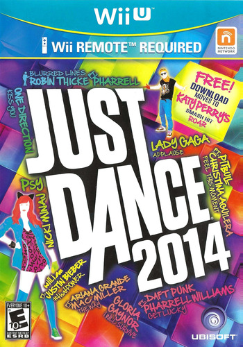 Just Dance 2014 WiiU coverM (AJ5E41)