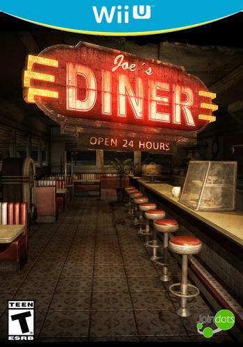 Joe's Diner WiiU coverM (AJAE)