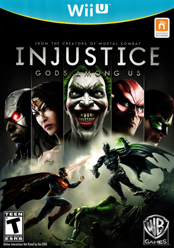 Injustice: Gods Among Us WiiU coverM (AJSEWR)