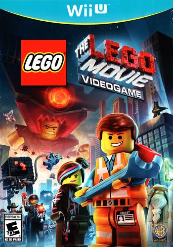 The LEGO Movie Videogame WiiU coverM (ALAEWR)