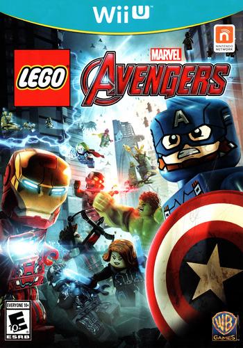 LEGO Marvel's Avengers WiiU coverM (ALREWR)