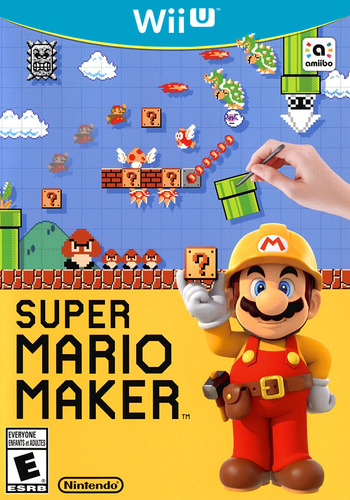 Super Mario Maker WiiU coverM (AMAE01)