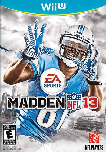 Madden NFL 13 WiiU coverM (AMDE69)