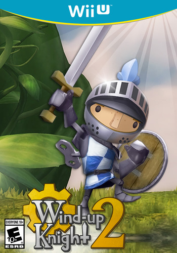 Wind-up Knight 2 WiiU coverM (AN2E)