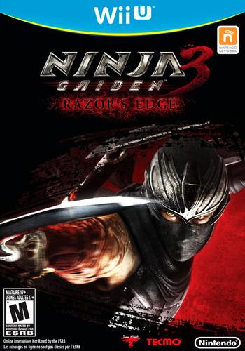 Ninja Gaiden 3: Razor's Edge WiiU coverM (ANGE01)