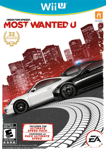 Need for Speed: Most Wanted U WiiU coverM (ANSE69)