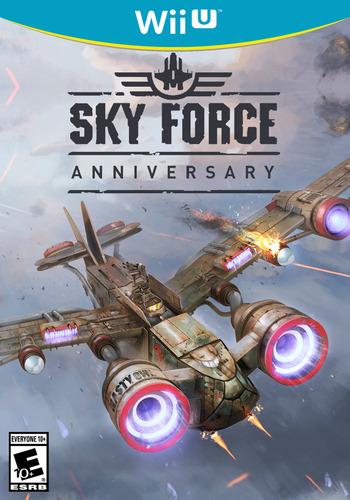 Sky Force Anniversary WiiU coverM (ANVE)