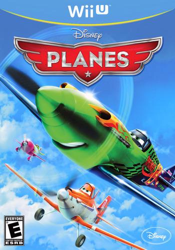 Disney Planes WiiU coverM (APAE4Q)