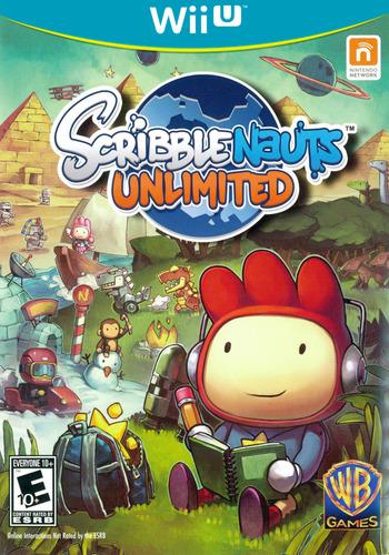 Scribblenauts Unlimited WiiU coverM (ASCEWR)