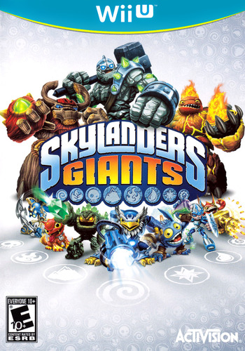 Skylanders: Giants WiiU coverM (ASLE52)