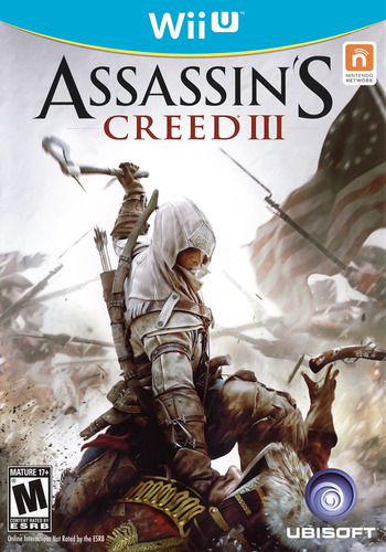 Assassin's Creed III WiiU coverM (ASSE41)