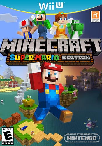 Minecraft: Super Mario Edition WiiU coverM (AUMED2)