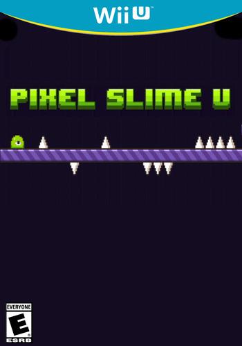 PIXEL SLIME U WiiU coverM (AUPE)