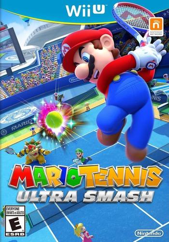 Mario Tennis: Ultra Smash WiiU coverM (AVXE01)