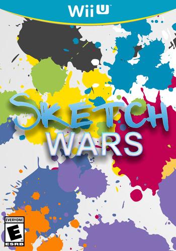 Sketch Wars WiiU coverM (AWRE)