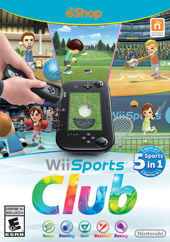 Wii Sports Club WiiU coverM (AWSE)