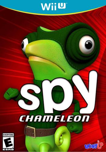 Spy Chameleon WiiU coverM (BC9E)