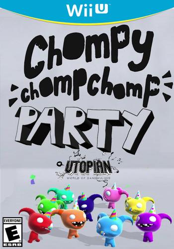 Chompy Chomp Chomp Party WiiU coverM (BCHE)