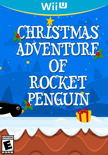 Christmas Adventure of Rocket Penguin WiiU coverM (BCKE)