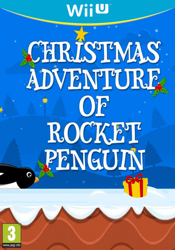 Christmas Adventure of Rocket Penguin WiiU coverM (BCPE)