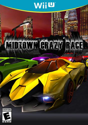 Midtown Crazy Race WiiU coverM (BCRE)