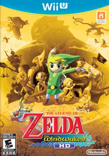The Legend of Zelda: The Wind Waker HD WiiU coverM (BCZE01)