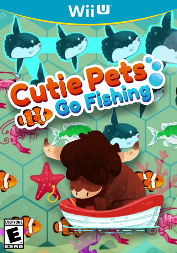 Cutie Pets Go Fishing WiiU coverM (BFGE)