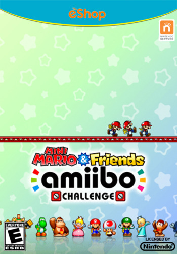 Mini Mario & Friends amiibo Challenge WiiU coverM (BGXE)