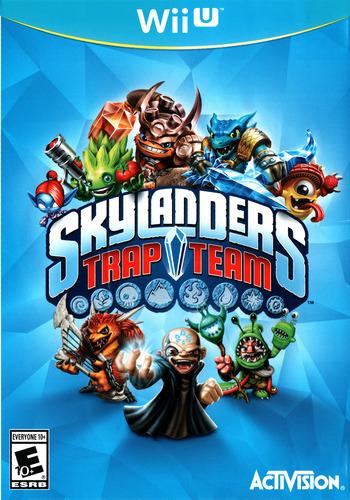 Skylanders: Trap Team WiiU coverM (BK7E52)