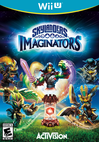Skylanders Imaginators WiiU coverM (BL6E52)