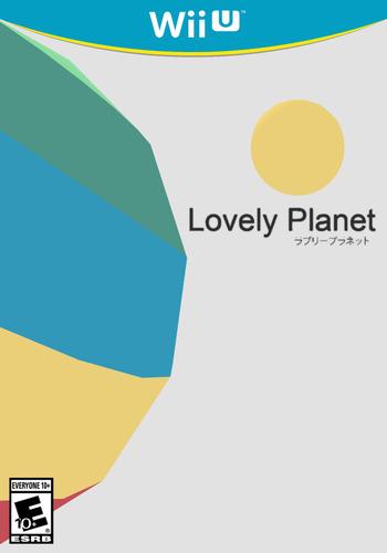 Lovely Planet WiiU coverM (BLVE)