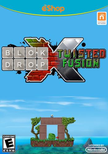 Blok Drop X: Twisted Fusion WiiU coverM (BLXE)