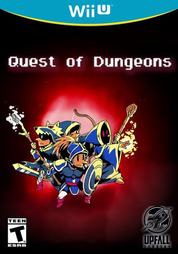 Quest of Dungeons WiiU coverM (BQDE)