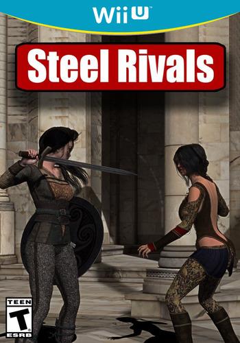 STEEL RIVALS WiiU coverM (BRCE)
