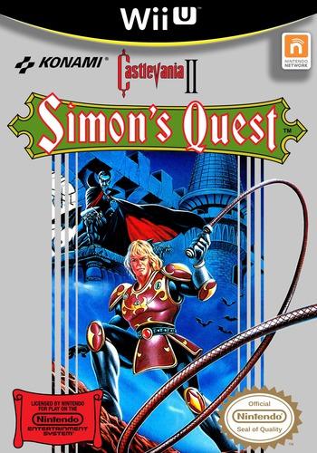 Castlevania II: Simon's Quest WiiU coverM (FB8E)