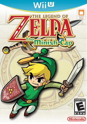 The Legend of Zelda: The Minish Cap WiiU coverM (PAKE)