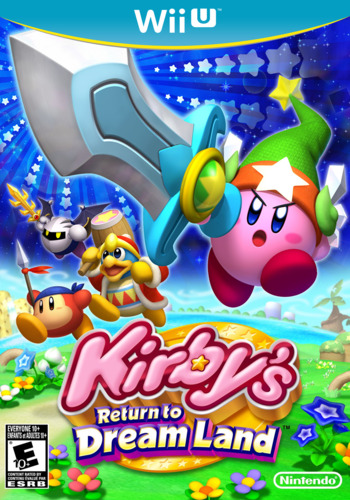 Kirby's Return to Dream Land WiiU coverM (VADE)