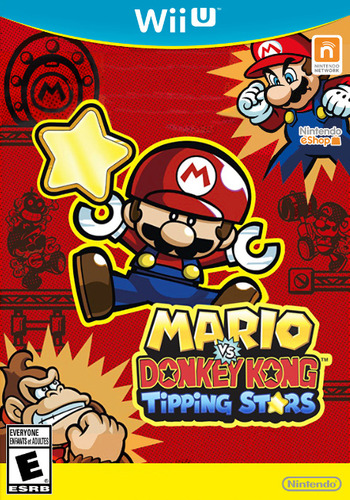Mario vs. Donkey Kong: Tipping Stars WiiU coverM (WAFE)