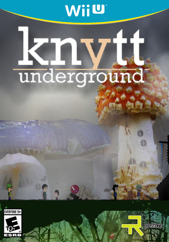 Knytt Underground WiiU coverM (WBCE)