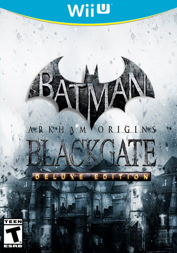 Batman: Arkham Origins Blackgate - Deluxe Edition WiiU coverM (WBME)