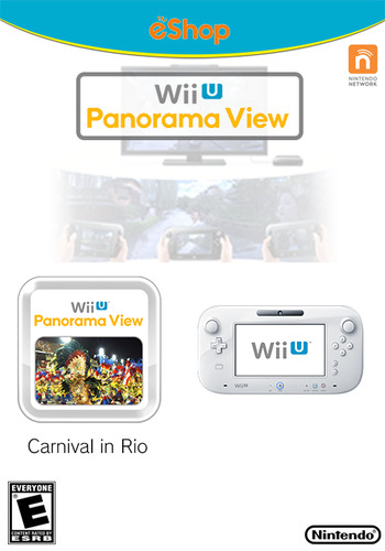 Wii U Panorama View: Carnival in Rio WiiU coverM (WBRE)