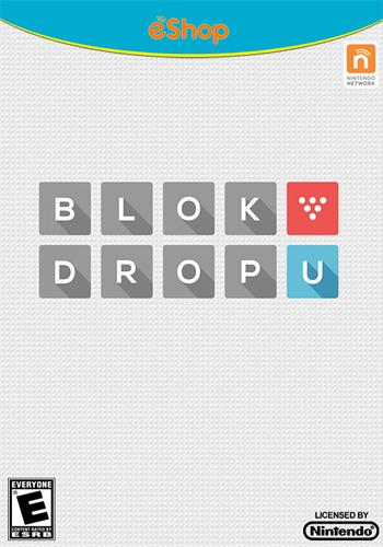BLOK DROP U WiiU coverM (WBUE)