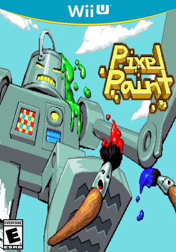 Pixel Paint WiiU coverM (WD9E)