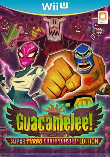 Guacamelee! Super Turbo Championship Edition WiiU coverM (WGCE)